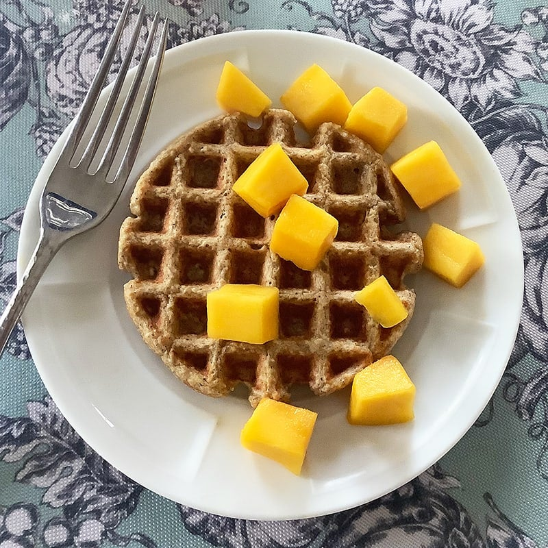 Photo of Individual oatmeal waffles by Chef Millie Peartree by WW
