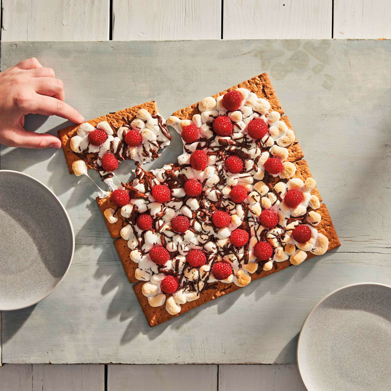 Photo of Grilled berry s'mores slab by WW