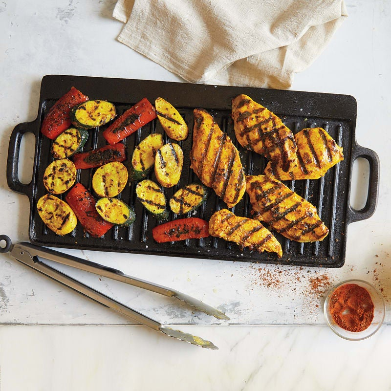 Photo of Grilled tandoori-style chicken and vegetables by WW