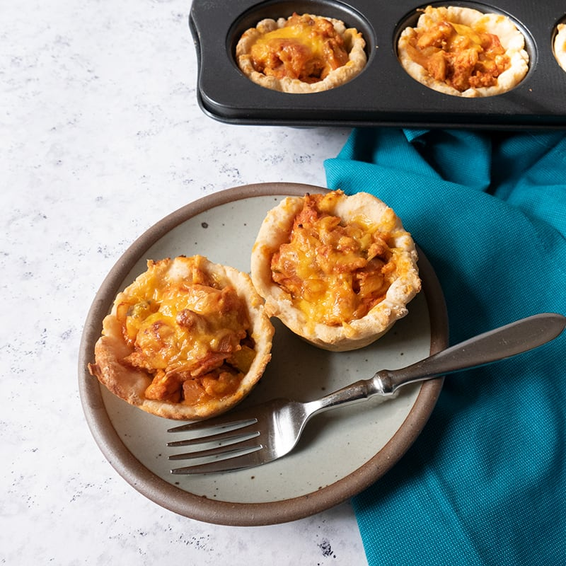 Photo of Chicken cheeseburger cups by WW