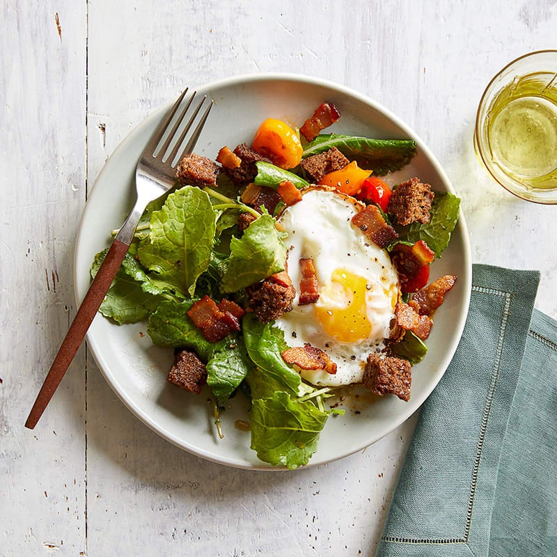 Photo of BLT & egg breakfast salad by WW