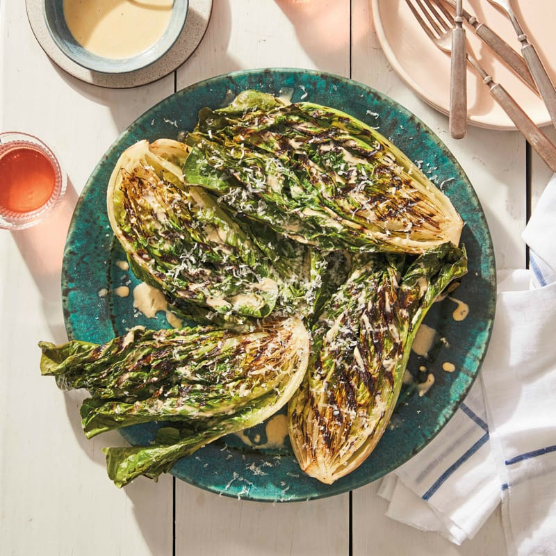 Photo of Grilled romaine with Caesar dressing by WW