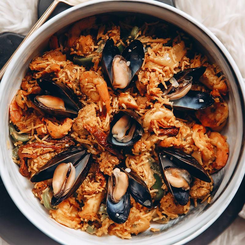 Photo of My family's seafood paella by Digital 360 Coach Kayla by WW