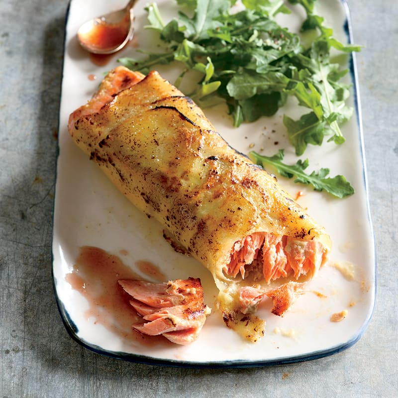 Photo of Potato-Wrapped Roasted Salmon by WW