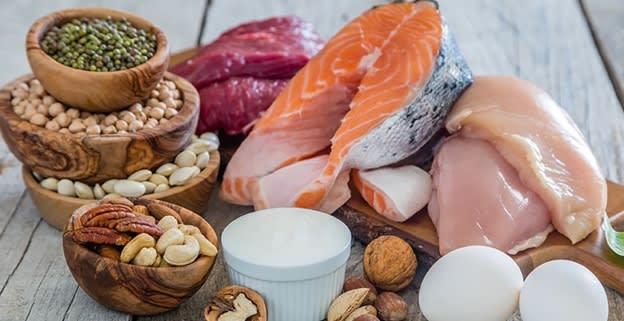 Eiwitrijke voedingsmiddelen, die helpen bij het afvallen