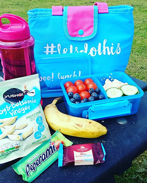 healthy lunch ideas, picnic, weight watchers