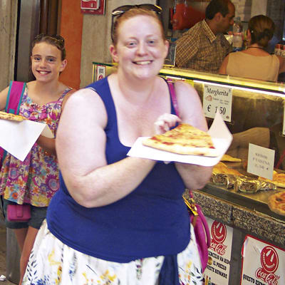 Weight Watchers member Lindsey