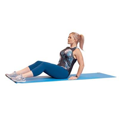 Jennie LIIT workout - 5 Assisted sit-ups