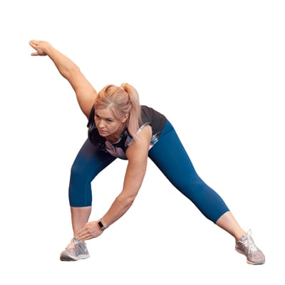 Jennie LIIT workout - 2 Side step and touch