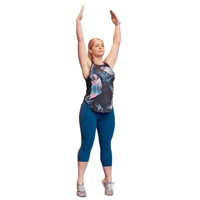 Jennie LIIT workout - 1 No jump squat