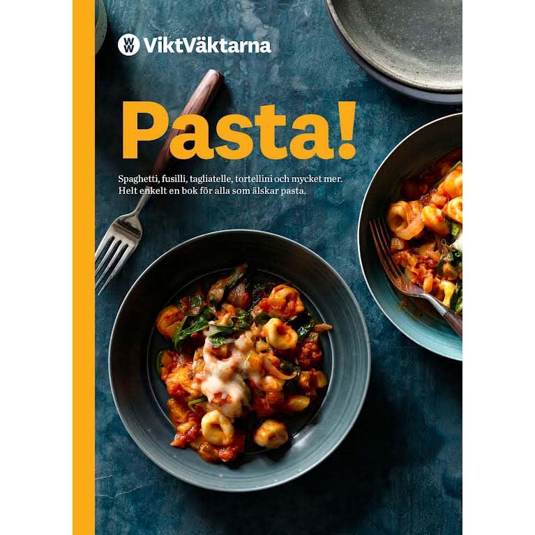Framsida av kokboken Pasta