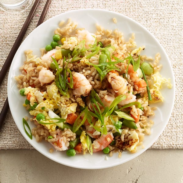 Photo of Quick shrimp fried rice by WW