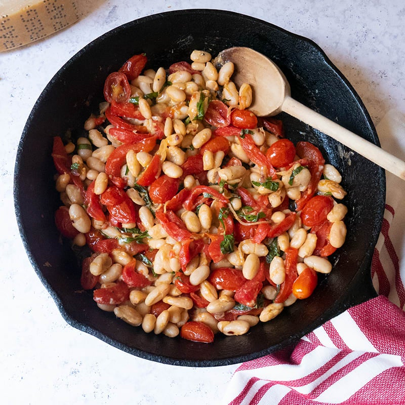 Photo of Italian cannellini beans on the grill by WW