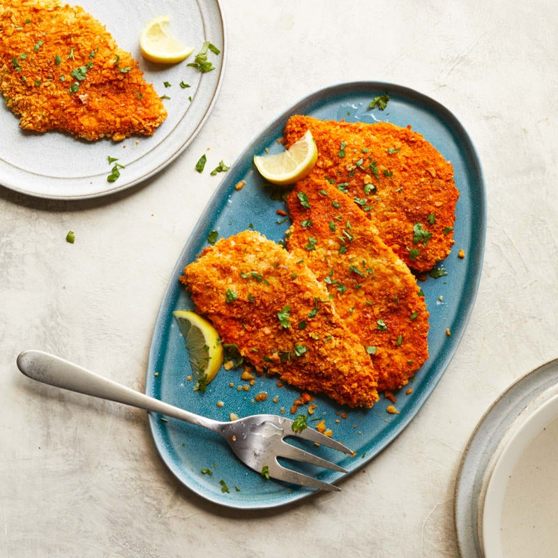 Photo of Oven-fried paprika chicken cutlets by WW