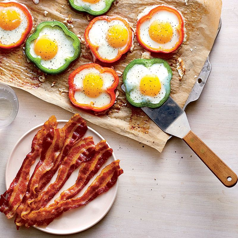 Photo of No-hassle eggs and bacon by WW