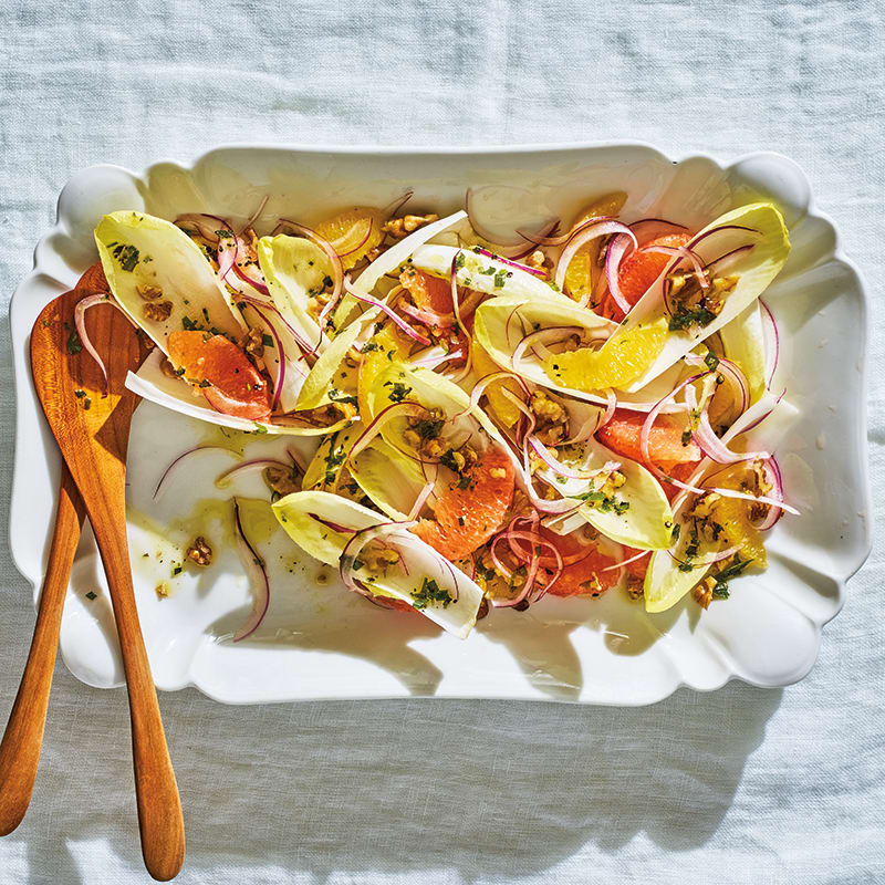 Photo of Endive-citrus salad with walnuts by WW