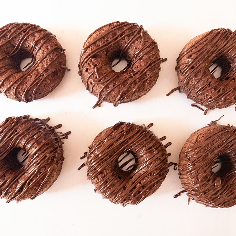 Photo of Double-chocolate doughnuts by WW