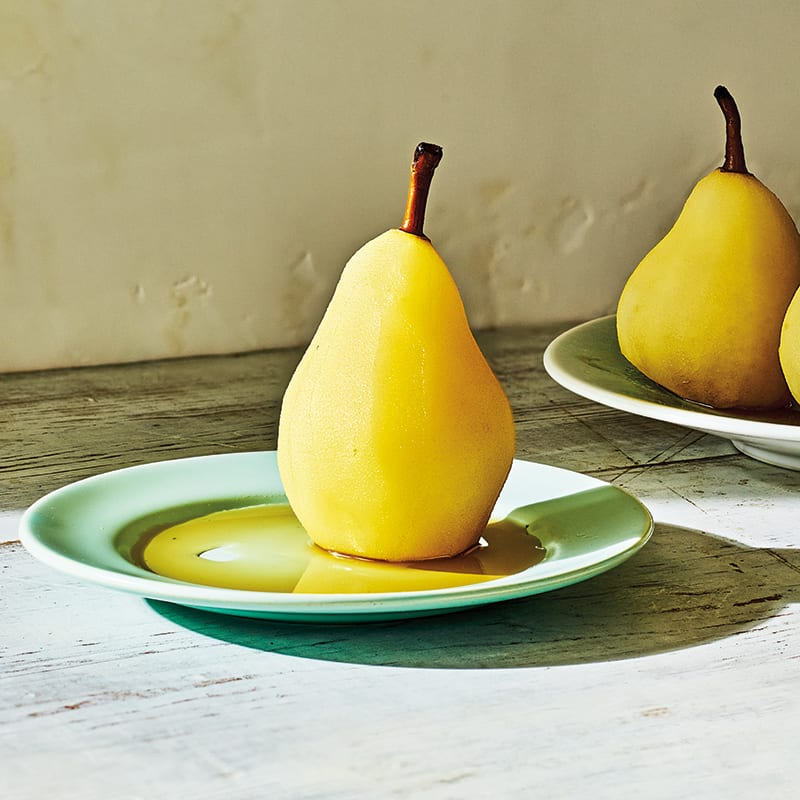 Photo of Cardamom-poached pears by WW