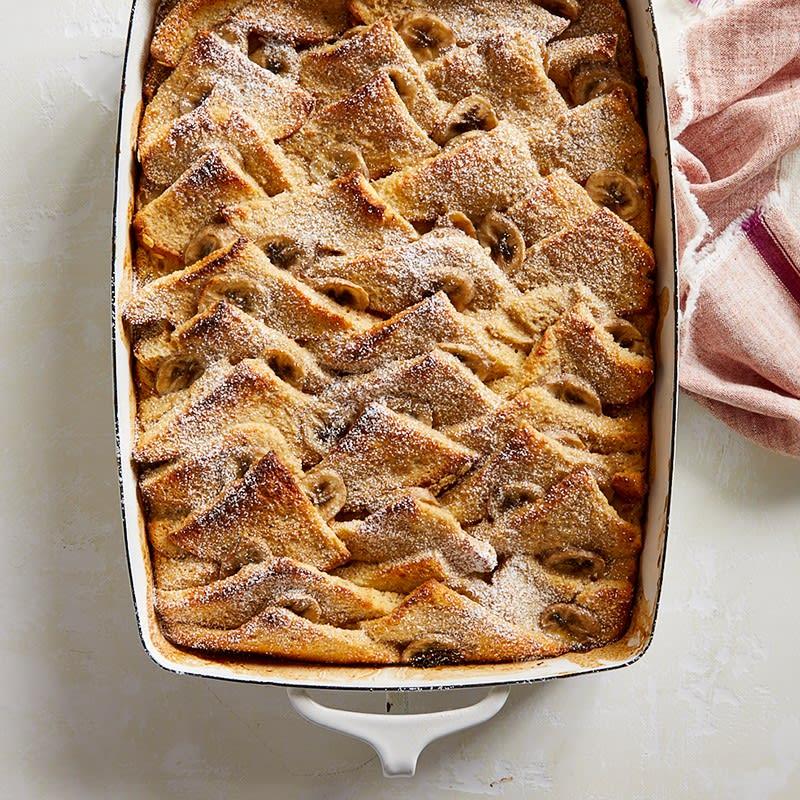 Photo of Creamy banana French toast casserole by WW
