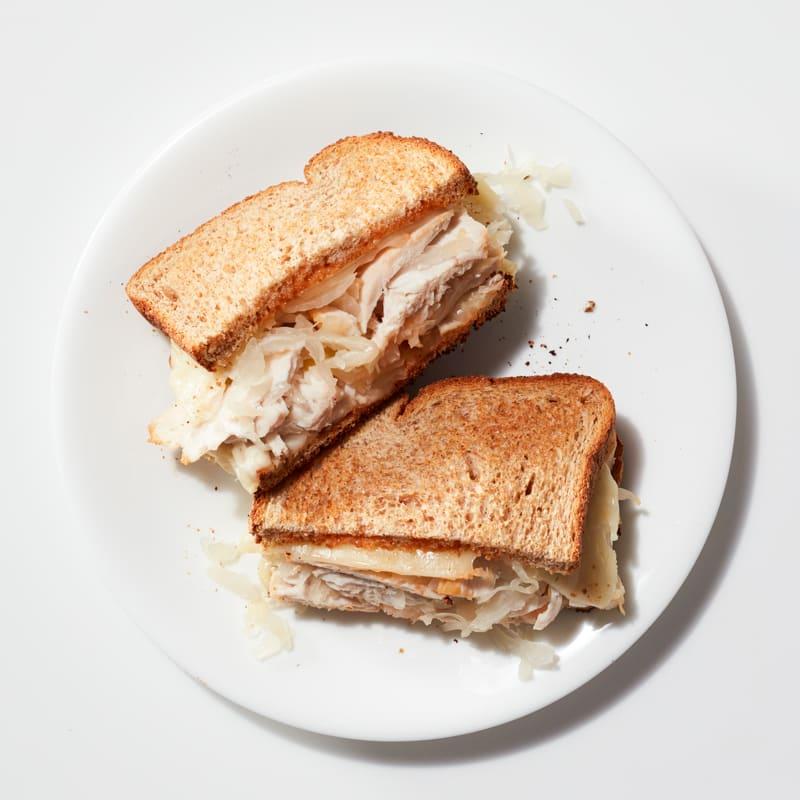 Photo of Chicken Reuben sandwich by WW