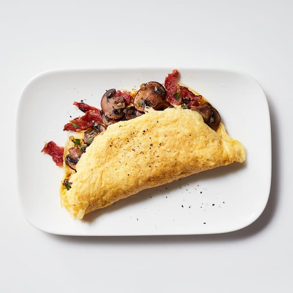 Photo of Mushroom and bacon omelette filling by WW