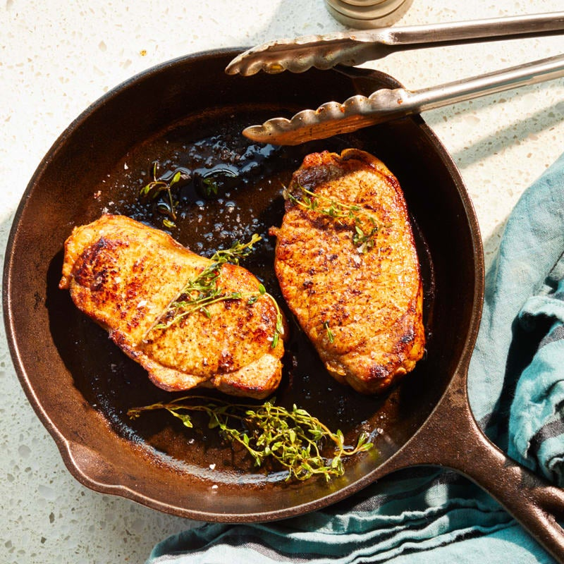Photo of Chili-rubbed pork chops by WW