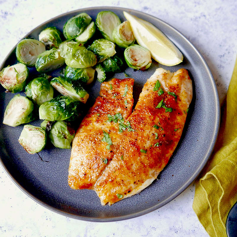 Photo of Smoky broiled tilapia by WW