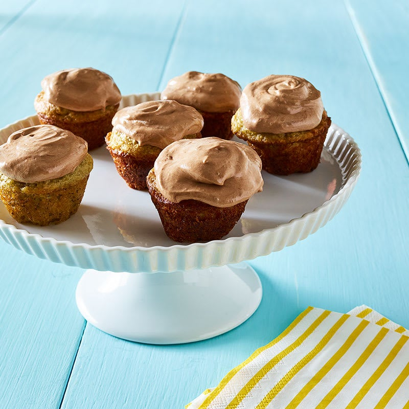 Photo of Mini banana cupcakes with Nutella frosting by WW