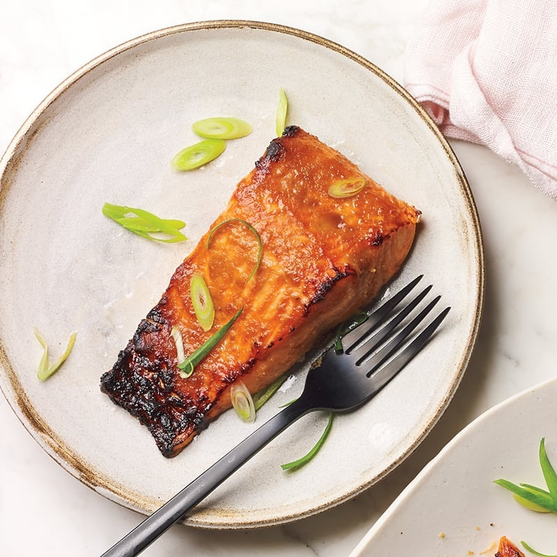 Photo of Miso-glazed salmon by WW