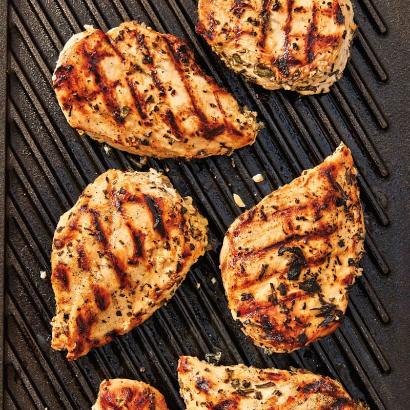 Photo of Grilled lemon-herb chicken by WW