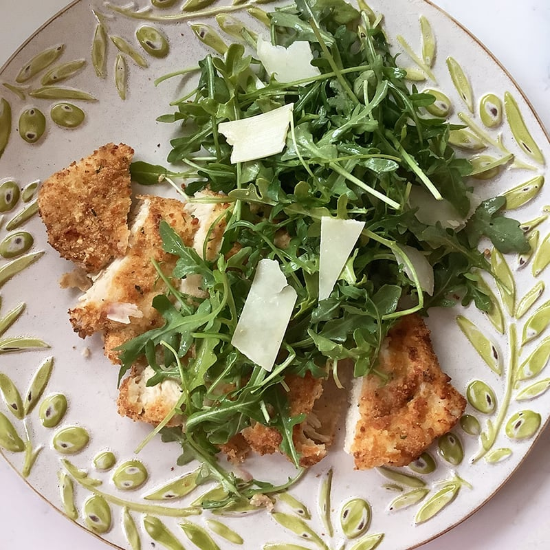 Photo of Air-fried chicken Milanese by Chef Millie Peartree by WW