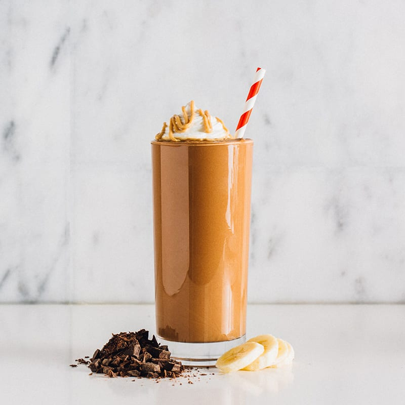 Photo of Chocolate peanut butter shake by PB2 by WW