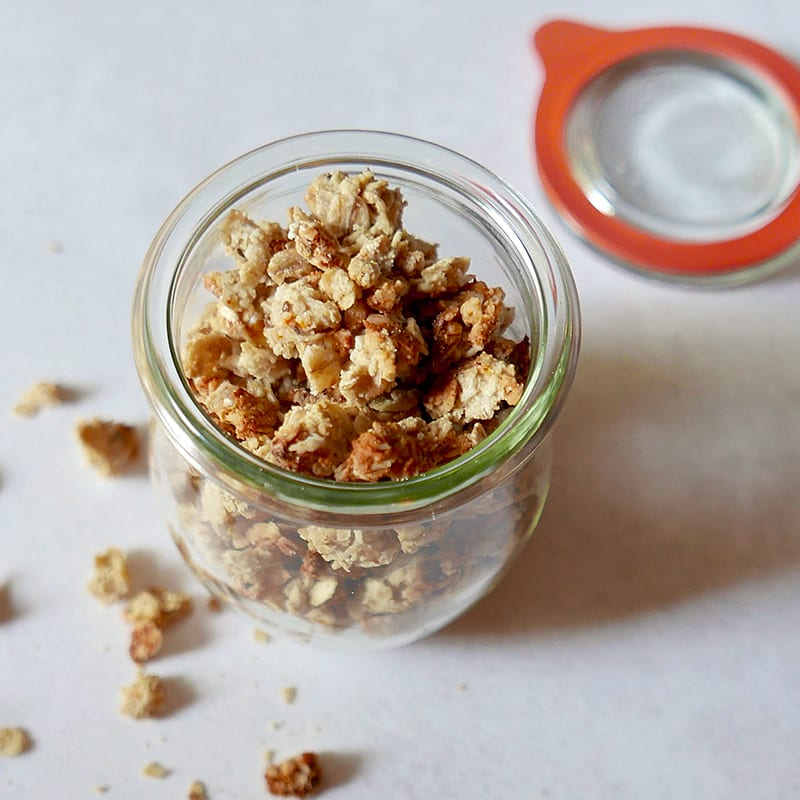 Photo of WW pumpkin spice granola by WW