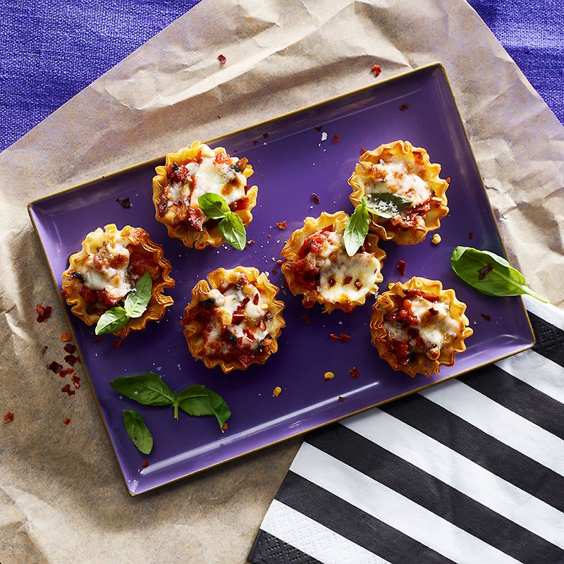 Photo of Mushroom and pepperoni pizza bites by WW