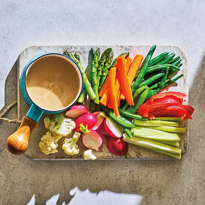 Photo of Bagna cauda with raw vegetables by WW