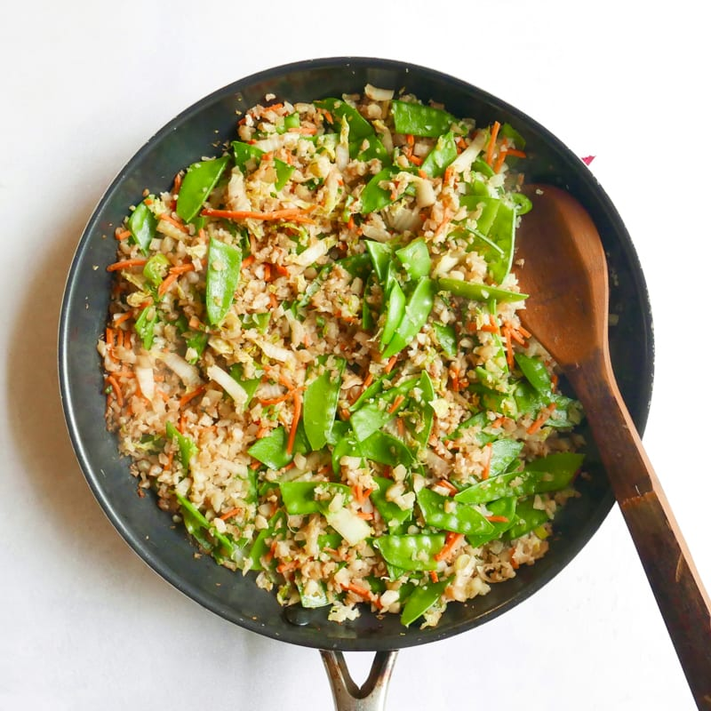 Photo of Quick cauliflower fried rice by WW