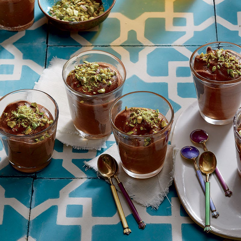 Photo of Bittersweet chocolate-orange mousse with pistachios by WW