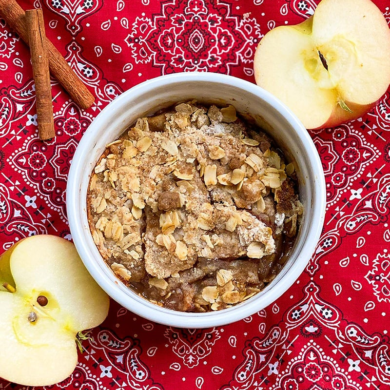Photo of Individual apple crisp by Digital 360 Coach Tess by WW