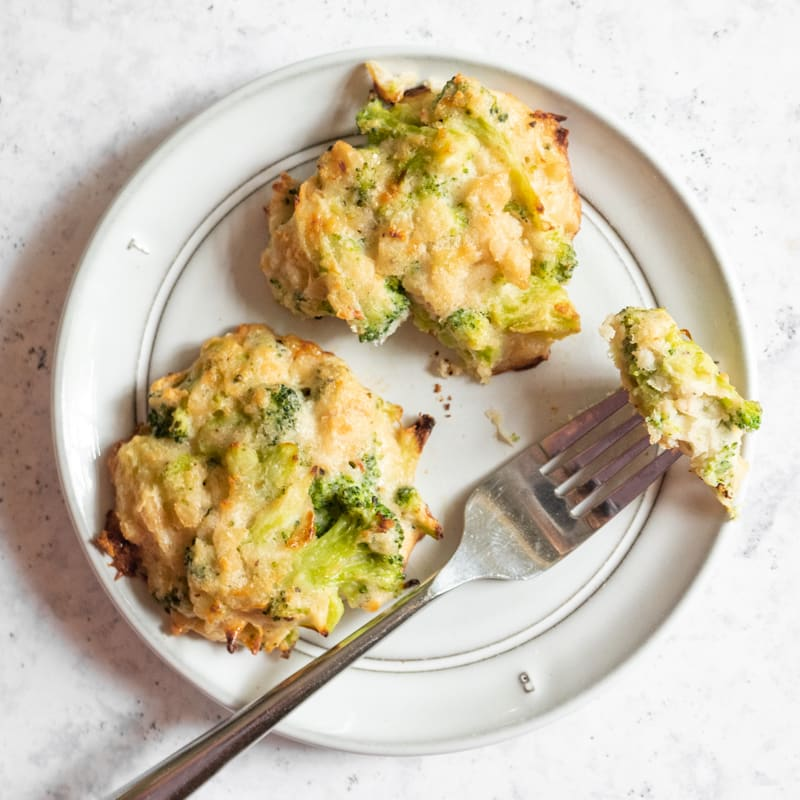 Photo of Broccoli-cheese fritters by WW