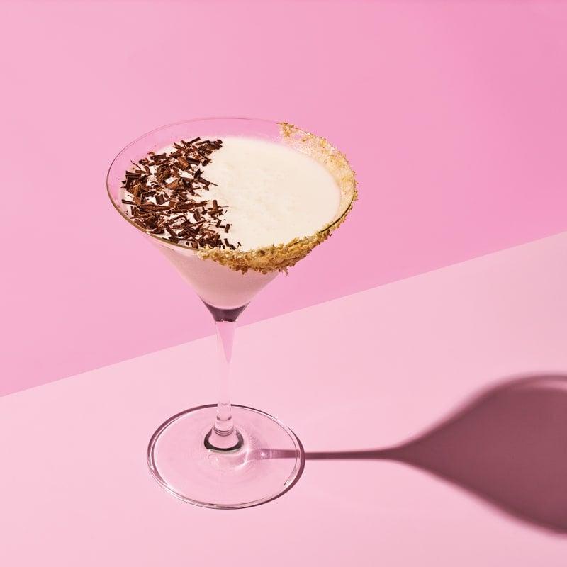 Photo of Chocolate & hazelnut martini with toasted-coconut rim by WW