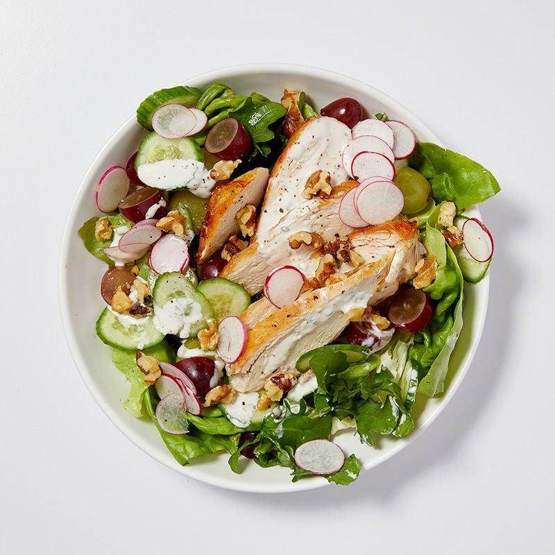 Chicken Grape And Toasted Walnut Salad Recipes Ww Usa