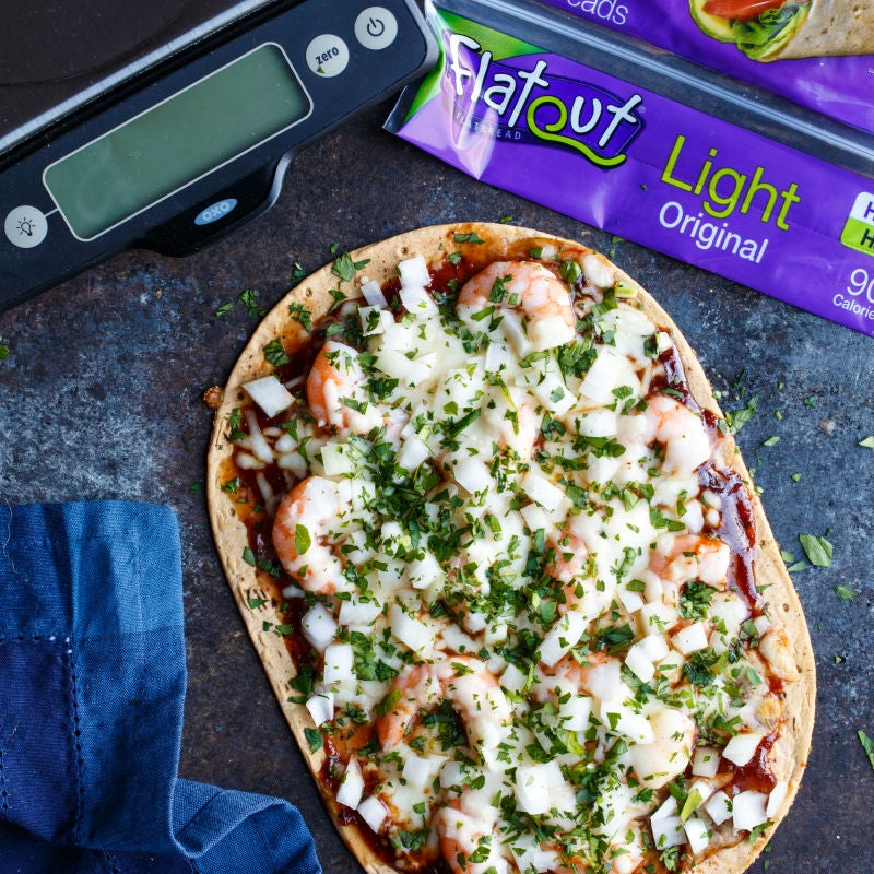 Photo of BBQ shrimp pizza by WW