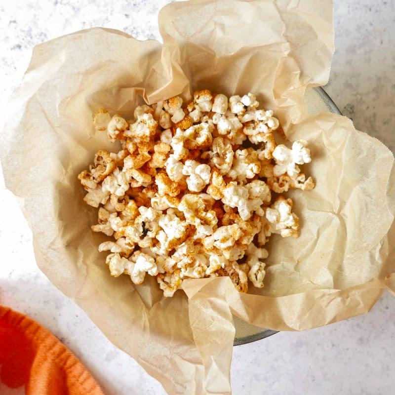 Photo of Vegan nacho popcorn by WW