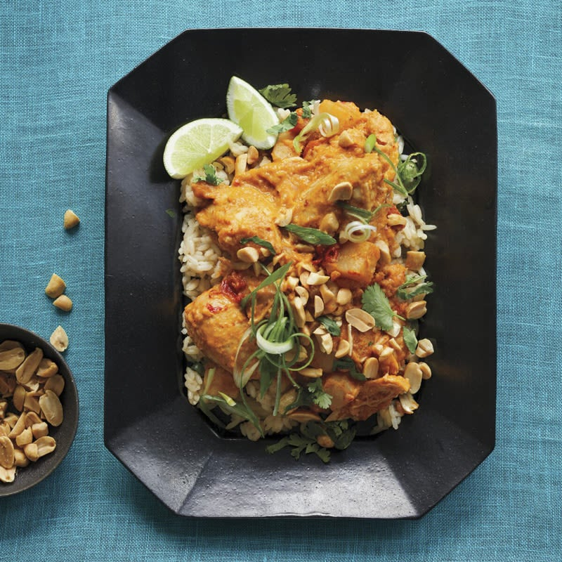 Photo of Thai red curry-coconut slow cooker chicken by WW