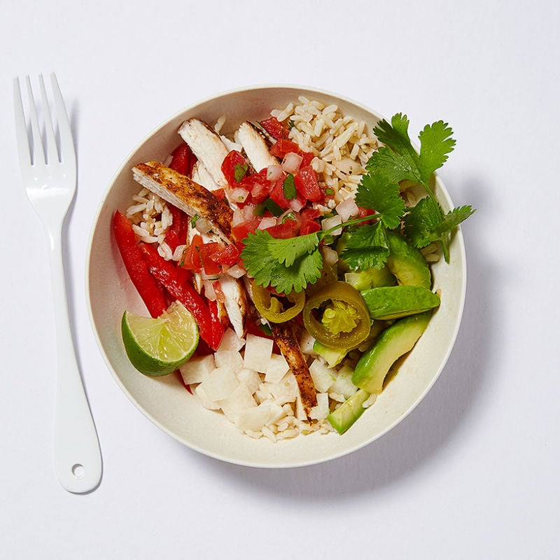 Photo of Chicken fajita rice bowls by WW