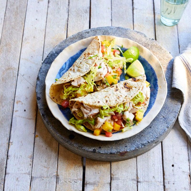 Photo of Mahi mahi soft tacos by WW