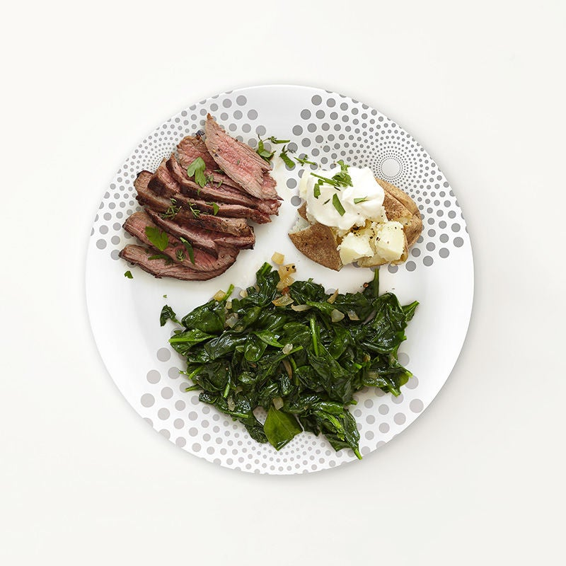 Photo of Portion Plate Steak Dinner by WW