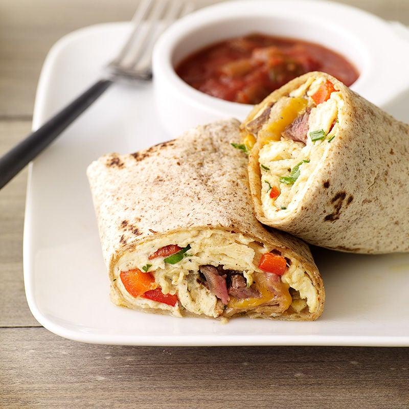steak and egg burrito recipes ww usa