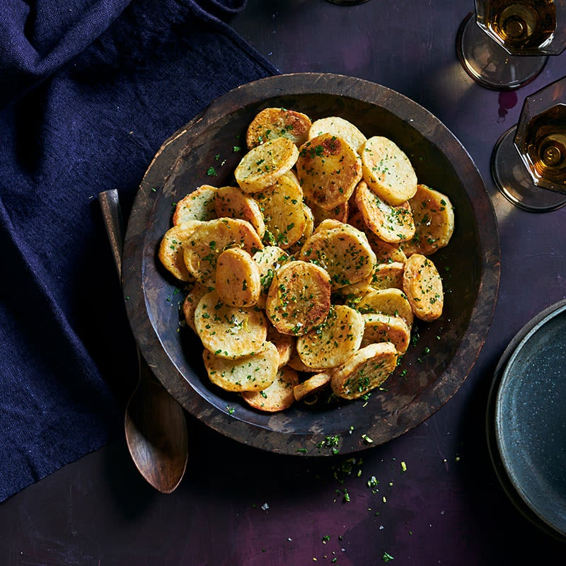 Photo of Roasted potatoes with fresh herbs by WW