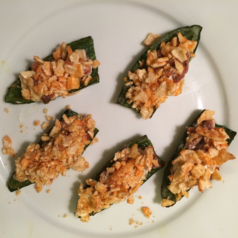 Photo of Broiled Jalapeño Poppers with Crispy Nacho Topping by WW